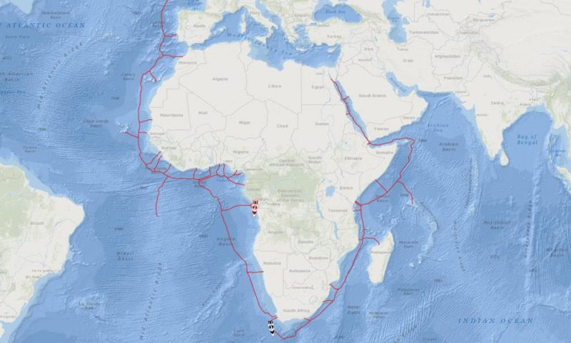 Fugro Starts Fibre-Optic Subsea Cable Project for 2Africa