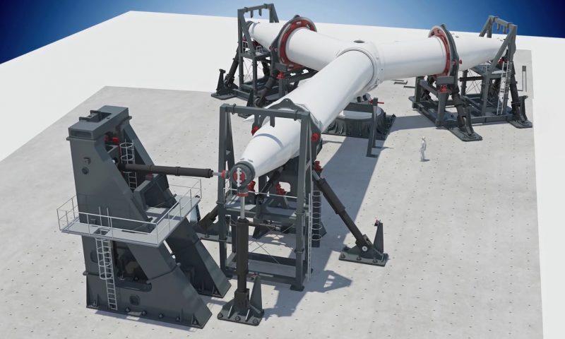 GE Renewables Wind Turbine Rotor Test Rig