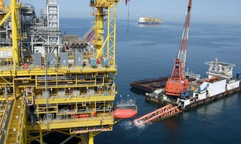KrisEnergy Cambodia Block A Apsara Oil Development offshore platform