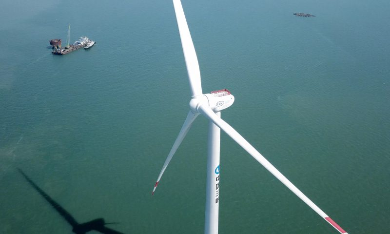 Dongfang Electric Corporation (DEC) 10MW Offshore Wind Turbine Installation