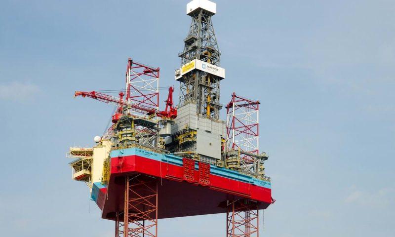 low-emission jack-up rig Maersk Integrator