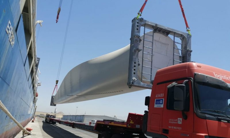 Middle East's Largest Wind Farm Marks Key Construction Milestone