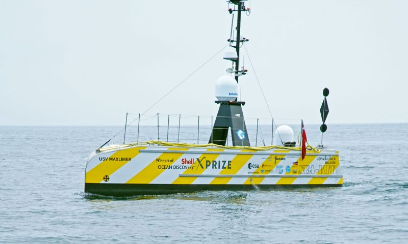 SEA-KIT's 12m Uncrewed Surface Vessel
