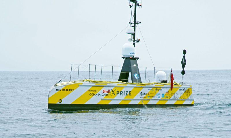 SEA-KIT's 12m Uncrewed Surface Vessel