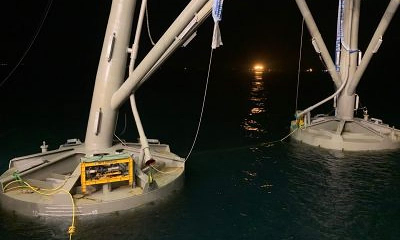 SPT Offshore Suction Pile Jacket Installation