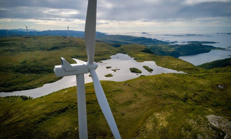 SSE Renewables Viking Wind Turbine