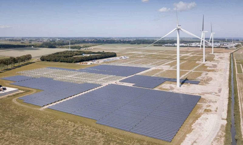 Vattenfall's Largest Hybrid Energy Park in the Netherlands