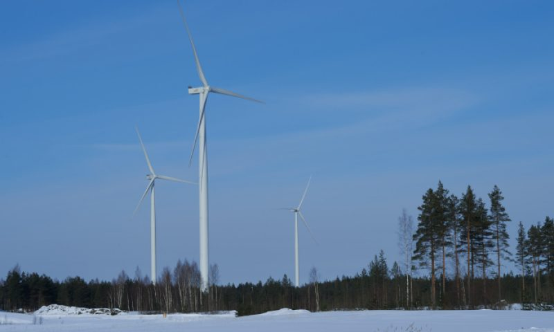 ABO Wind wind farm Ratiperä