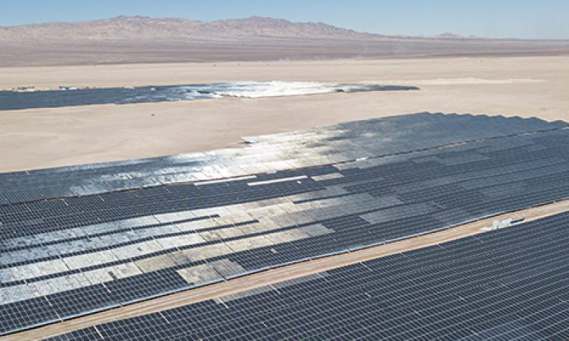 ACCIONA 238MW Malgarida Photovoltaic Complex in Chile