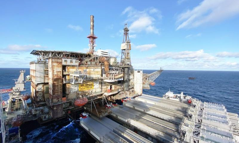 Allseas Pioneering Spirit Decommissioning
