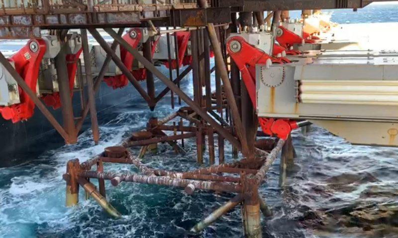 Allseas Pioneering Spirit Decommissioning