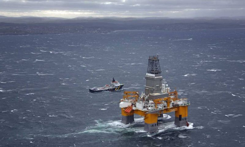 Deepsea Aberdeen Offshore Drilling Rig