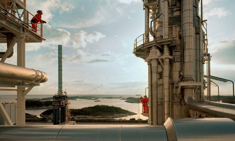 Kollsnes gas processing plant