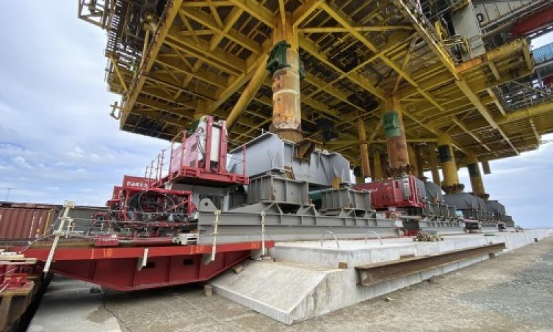 Decommissioning and Heavy Transport Offshore Topsides Fagioli
