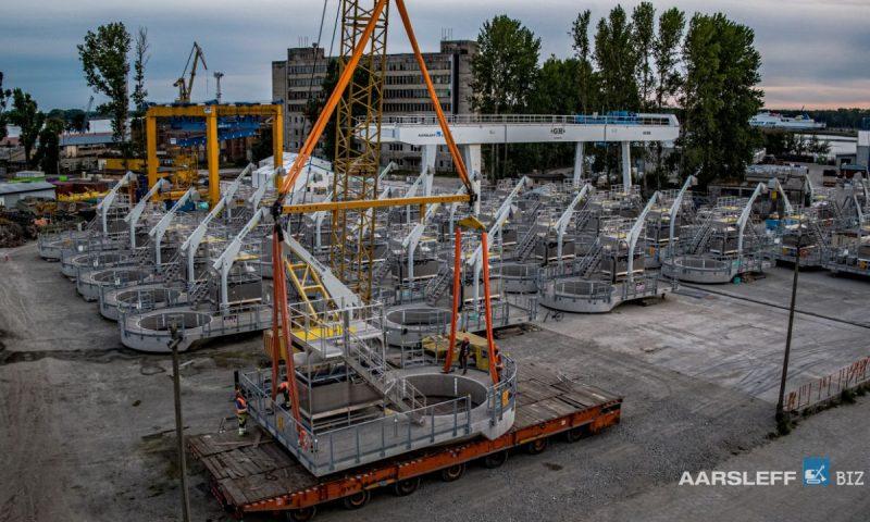 Concrete Work Platforms (CWPs) for Windpark Fryslân