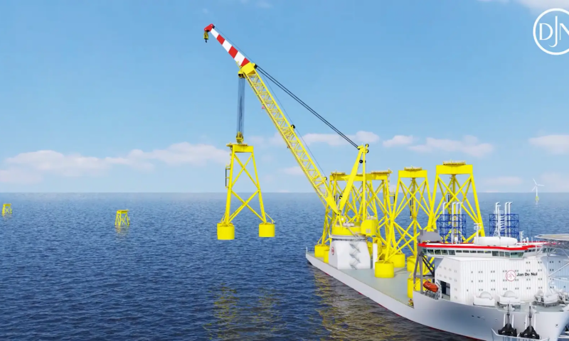 "Jan De Nul´s Heavy Lift Vessel ""Les Alizés"""