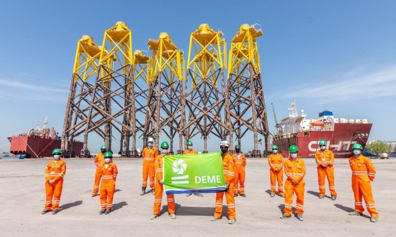 Jacket Foundations Moray East Offshore Wind Farm