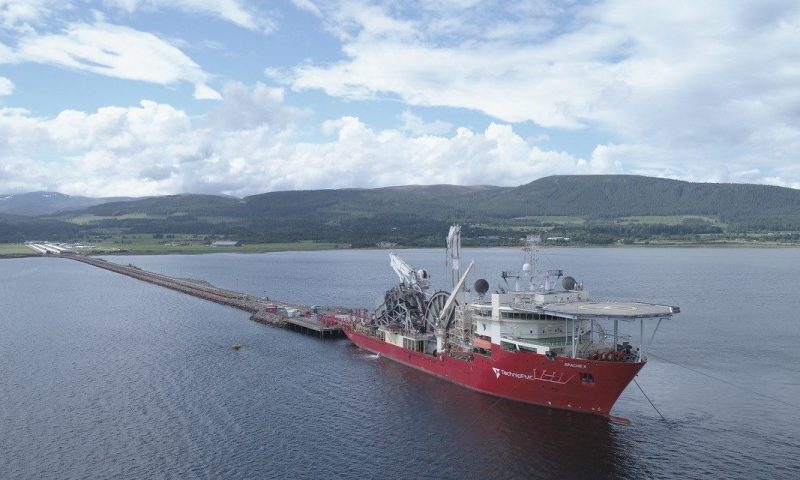 TechnipFMC's Normand Mermaid Seagull Project Neptune Energy