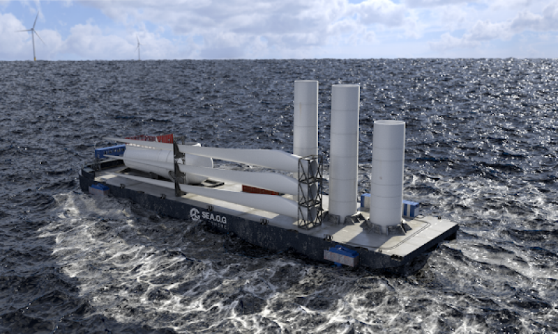 Jones Act, Transport Barge Offshore Wind, Wind Blade Transport