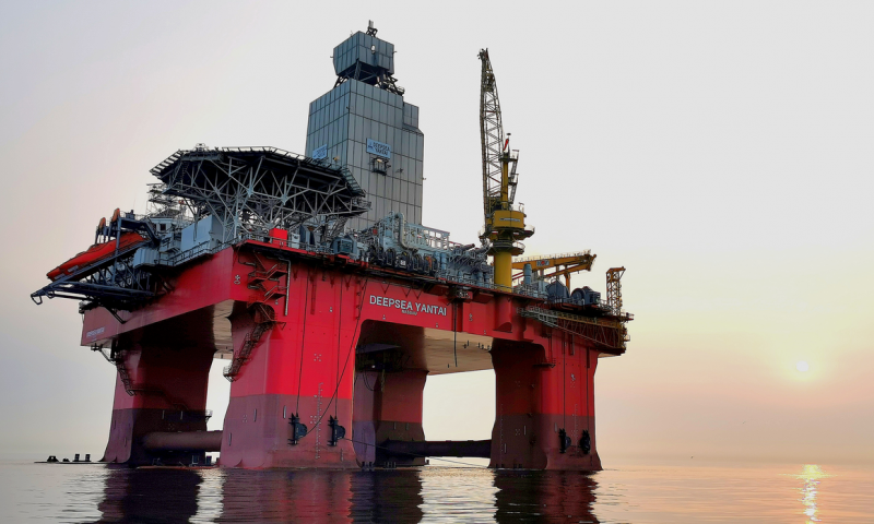 Odfjell Drilling Rig Deepsea Yantai
