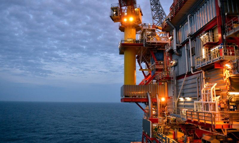 Oil and Gas Discovery Close to North Sea Fram Field