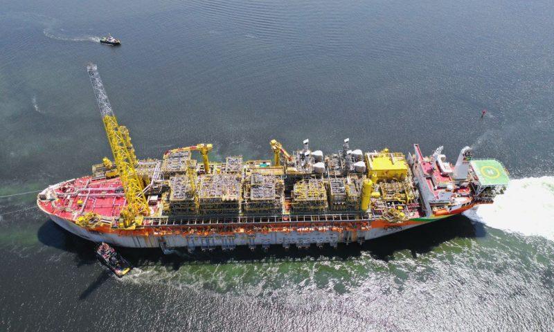 FPSO Almirante Tamandaré SBM Offshore Brazil Petrobras