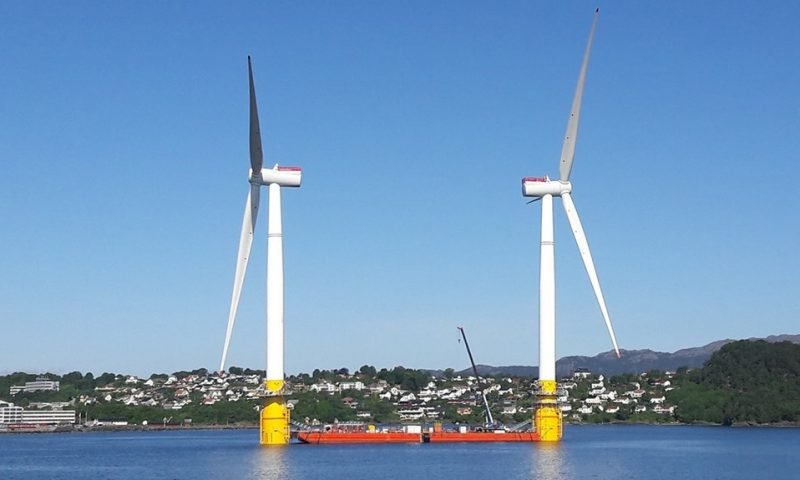 offshore floating wind farm Sarens