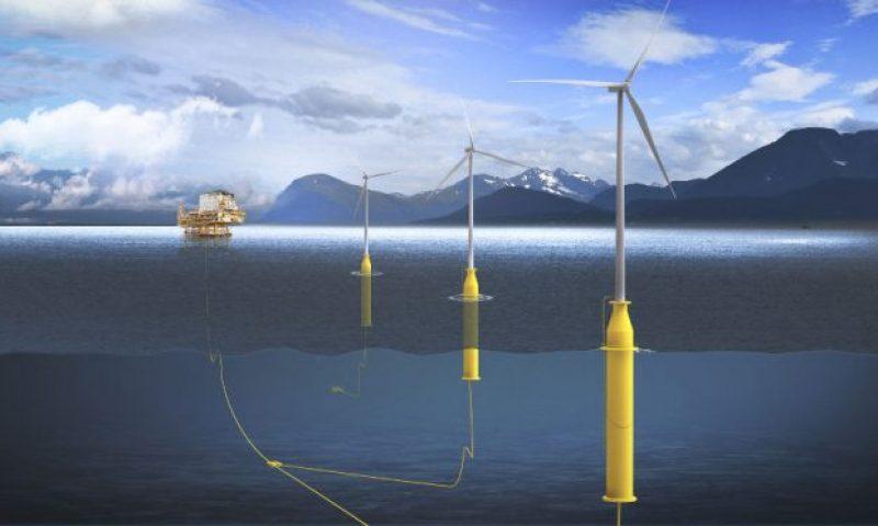 Floating Offshore Wind Spar Buoy Foundation