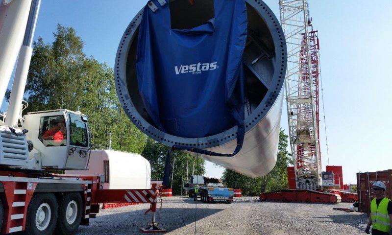 Vestas Wind turbine installation