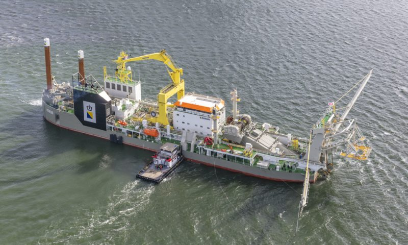 Mega Suction Cutter Dredger Boskalis