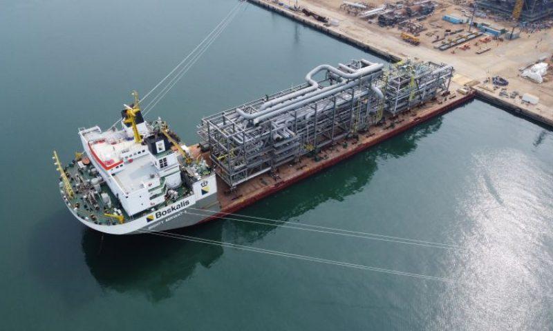 Boskalis semi-submersible heavy transport vessel Mighty Servant 3