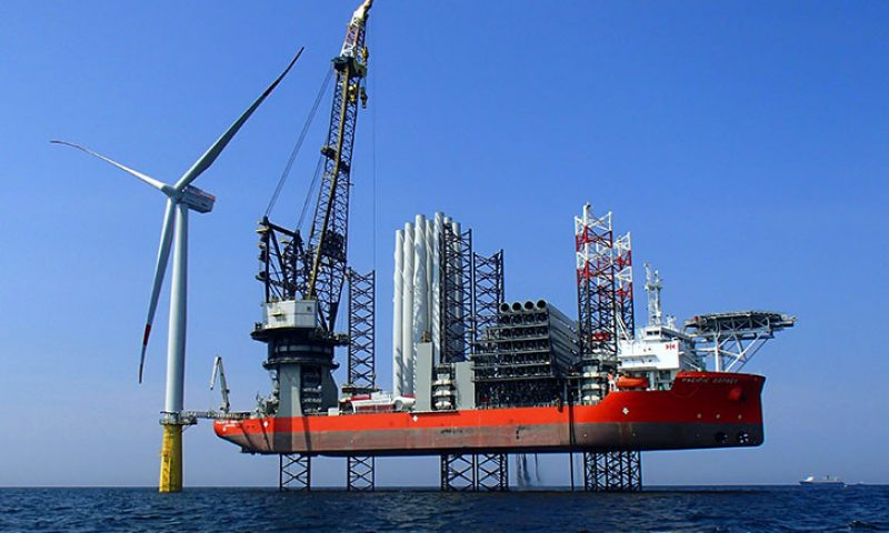 Pacific Orca Offshore Installation Vessel