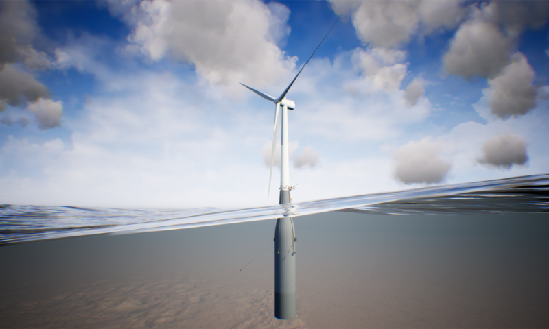 Hywind Tampen Spar buoy foundation floating wind