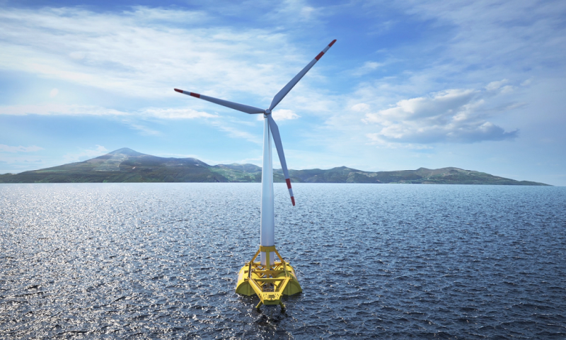 DemoSATH floating offshore wind foundation concept