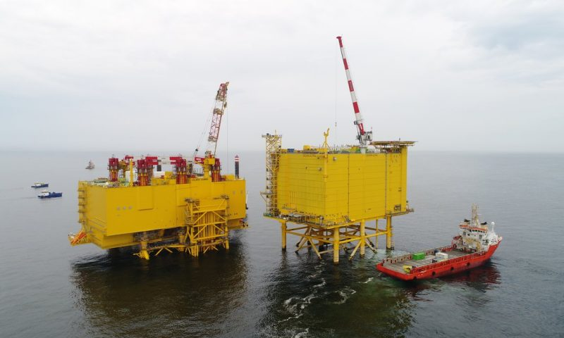 GE Successfully Upgrades the Offshore DolWin Gamma Platform in North Sea