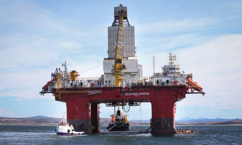 Neptune Energy Deepsea Yantai Drilling rig