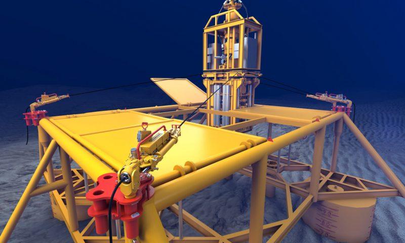 Oceaneering wellhead load relief (WLR) tensioners Petrobras in Brazil