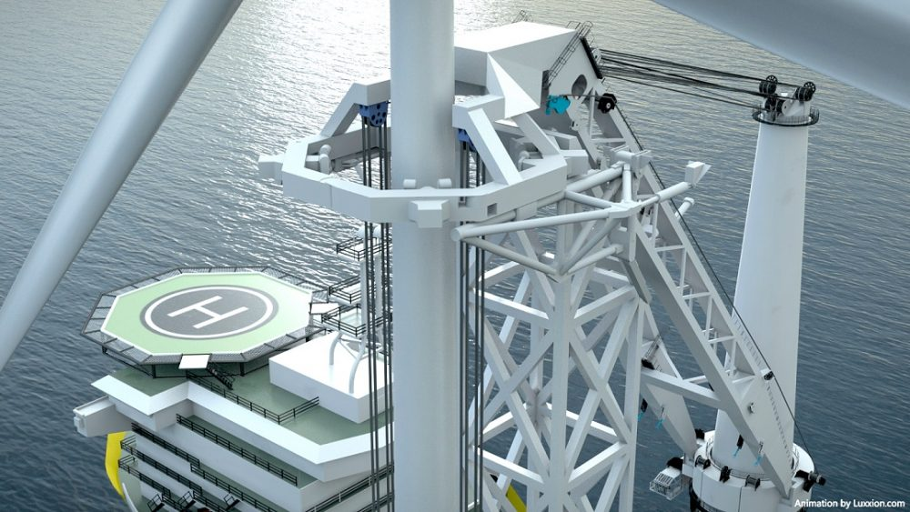 Offshoretronic Presents New ADD-ON Installation Support Tower Concept