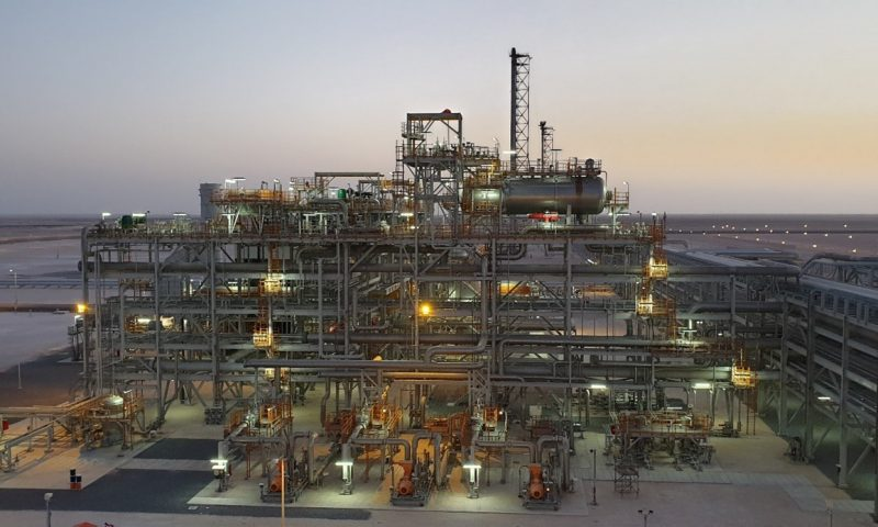 Production Starts at Ghazeer in Oman