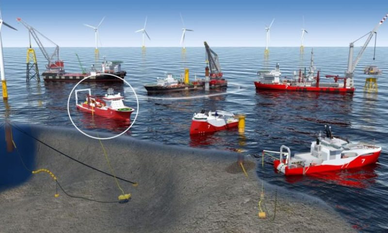 Seaway 7 Renewables cable lay vessel