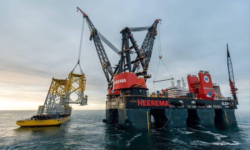 Heerema Sleipnir Completes Hornsea 2 Installation