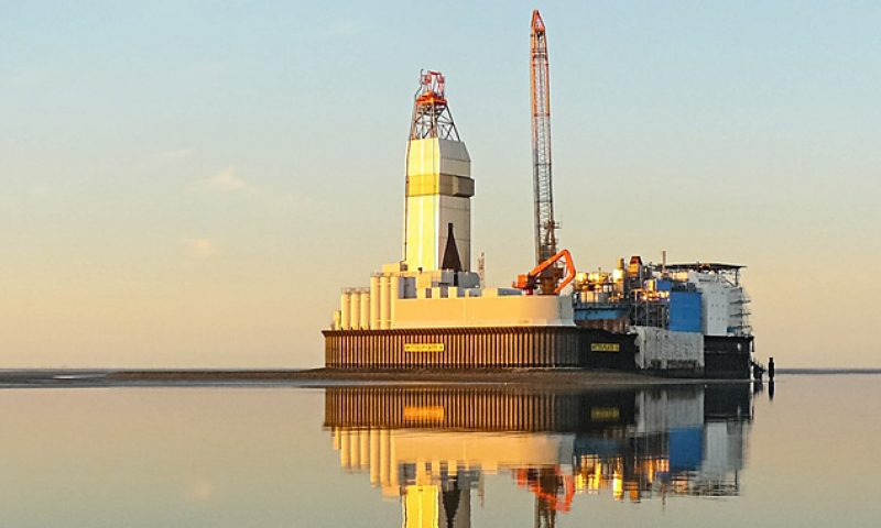 Mittelplate Drilling and Production Island 100% Renewable Driven