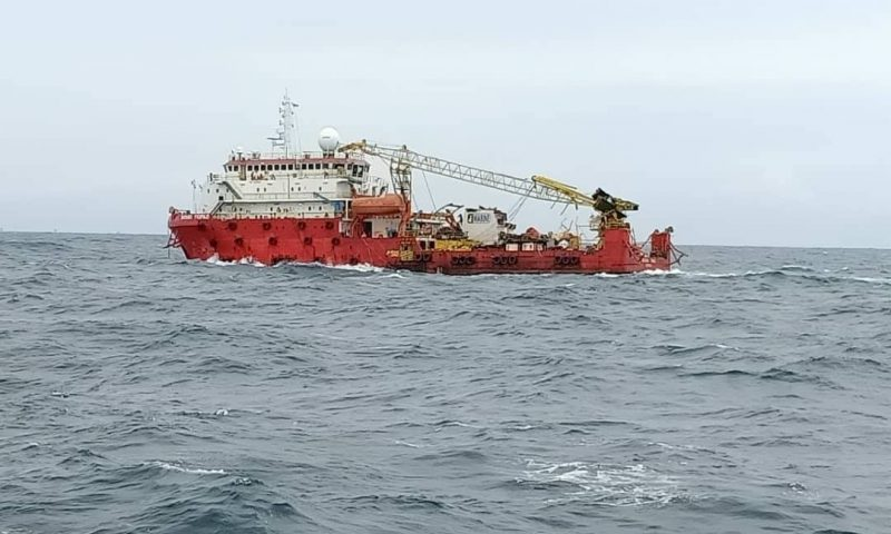 MV Dayang Topaz, owned by DESB Marine Services Vessel Collision