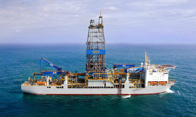 ultra-deepwater drillship Noble Tom Madden
