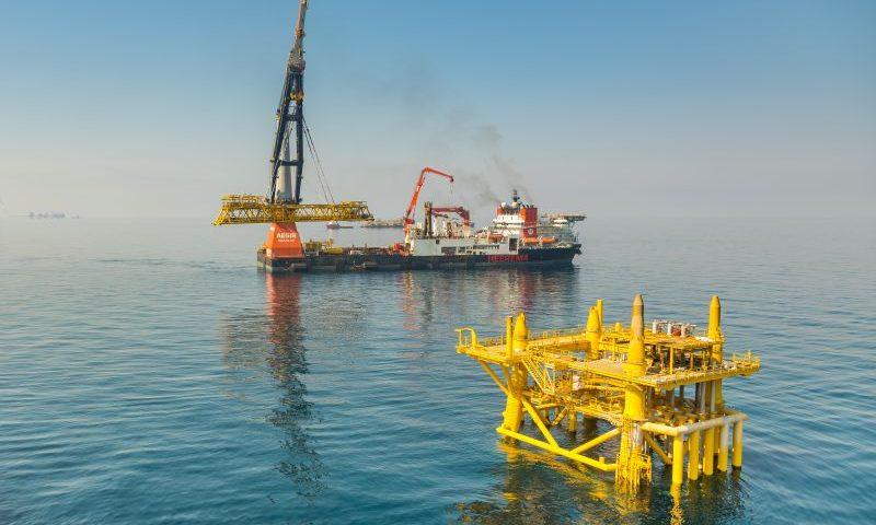 Al-Shaheen Gallaf 1 Project Heerema's Aegir