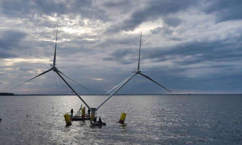 Aerodyn's New Floating Offshore Wind Design
