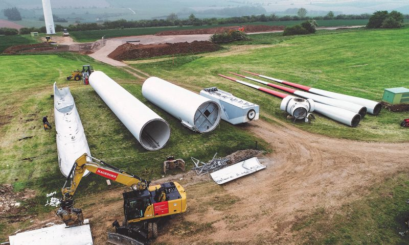 Dismantling and Decommissioning of Wind Turbines