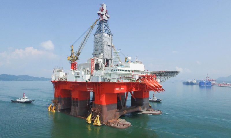 Seadrill West Mira drilling rig Nova Field