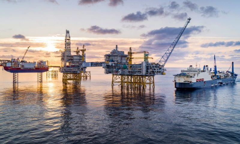 Equinor's Increasing Capacity on Johan Sverdrup to Half a million bpd