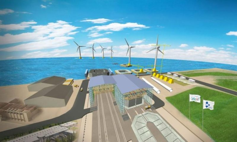 Ideol's concrete floaters for offshore wind